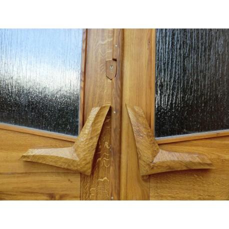 Griffe für die Eingangstür